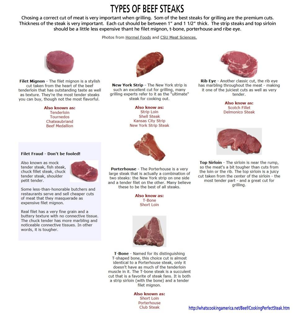Beef Steak Primer