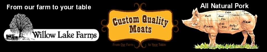 custom pork packs from Custom Quality Meats